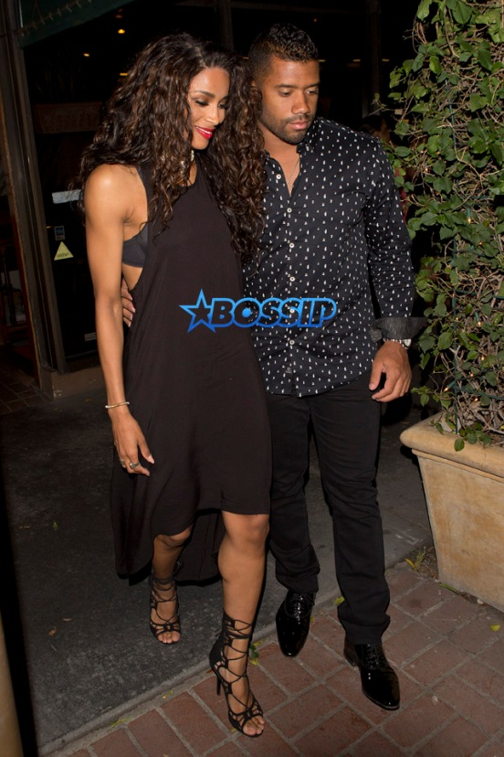 Ciara Russell Wilson dinner Madeo's Kelly Rowland La La Anthony husbands Tim Weatherspoon and Carmelo Anthony